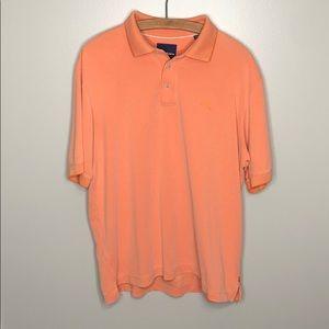 Tommy Bahama Orange Short Sleeve Polo button up